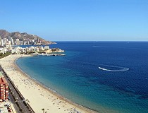 Benidorm beaches Photos: Holiday apartments, accommodation, pool, Benidorm