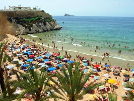 Benidorm: beaches, sun and sea. Benidorm holiday apartments near beaches